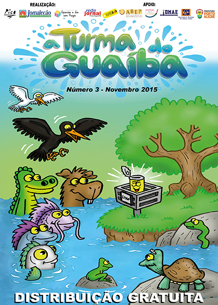 A Turma do Guaíba - Revista 3